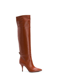 L'Autre Chose Pointed Toe Over The Knee Boots