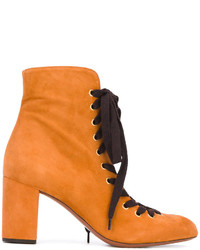 Chloé Miles Lace Up Ankle Boots