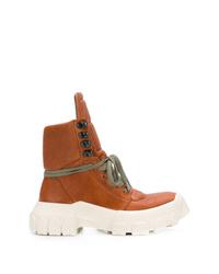 Rick Owens Hi Top Platform Boots