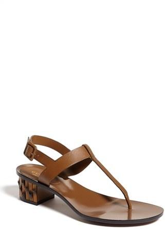 675968f08f1ad Gucci Dahlia Bamboo Heel Thong Sandal