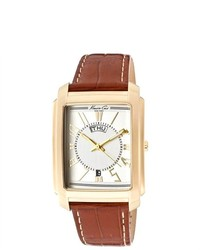 Tobacco Leather Watch