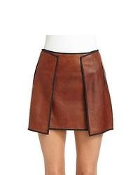 Tobacco Mini Skirt