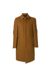 Fendi Bag Bugs Buttoned Coat