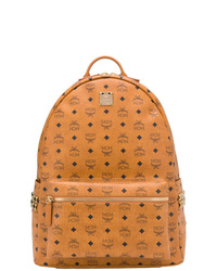 MCM All Over Logo Backpack