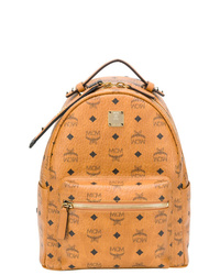 MCM Diamond Print Backpack