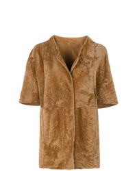 Drome Short Sleeved Button Coat
