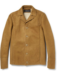 Tobacco Shearling Jacket