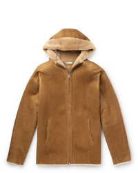 Connolly Shearling Hooded Jacket