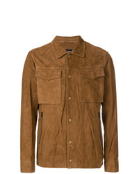White Mountaineering Zipped Fitted Jacket