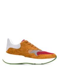 Alexander McQueen Colour Block Oversized Runner Sneakers