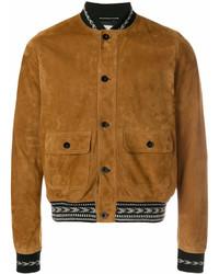 Leather bomber jacket medium 6978708