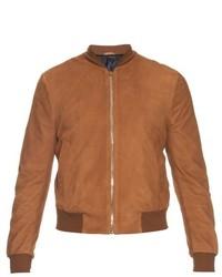 London suede bomber jacket medium 449661