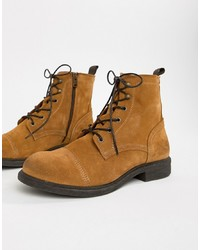 Selected Homme Suede Lace Up Boot