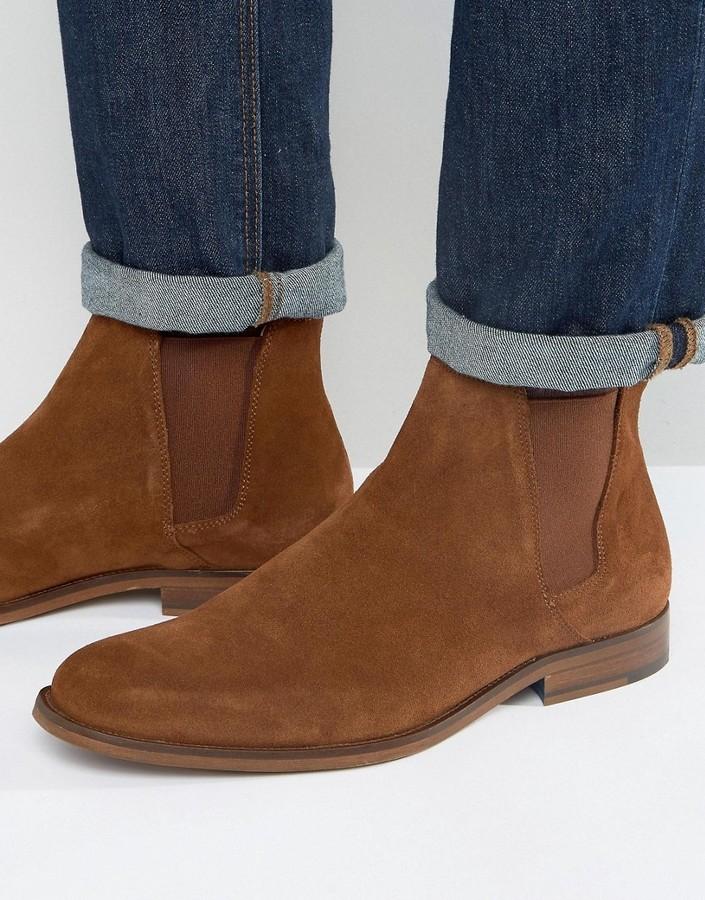 ... Aldo Vianello Suede Chelsea Boots ...