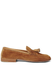 Portland leather trimmed suede tasselled loafers medium 1245592