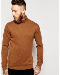 Asos Brand Merino Wool Roll Neck Sweater