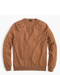 Tall merino wool v neck sweater medium 754177
