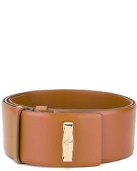 Salvatore Ferragamo Logo Plaque Waist Belt