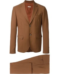 Tobacco Wool Suit