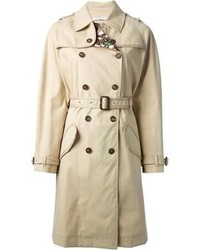 Go for a shirt and a trench coat for a trendy and easy going look.
