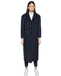 Vertical Striped Outerwear