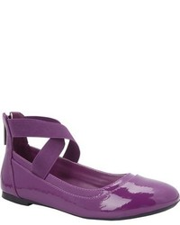 Violet Ballet Flats