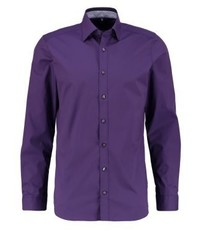 Olymp Body Fit Formal Shirt Pflaume