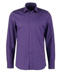 Olymp Body Fit Italian Formal Shirt Purple