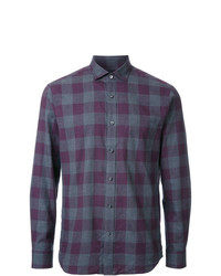 Kent & Curwen Gingham Check Shirt