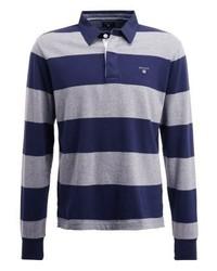 Gant Polo Shirt Dark Grey Melange