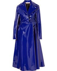Marni Faux Patent Leather Coat