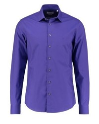 Bari slim fit shirt purple medium 3779461