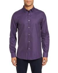 London fooreal trim fit sport shirt medium 834181
