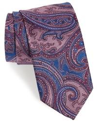 Paisley silk tie medium 834169