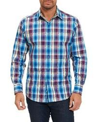 Hiran plaid sport shirt medium 1247754