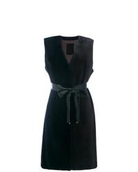 Liska Sleeveless Belt Coat