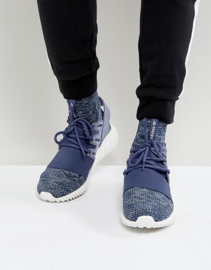 ... adidas Originals Tubular Doom Pk Sneakers In Purple Bb2393
