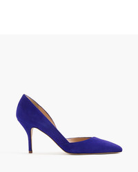 Colette suede dorsay pumps medium 735248