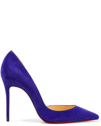 Iriza 100 suede pumps purple medium 818677