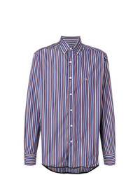 Lanvin Striped Print Shirt