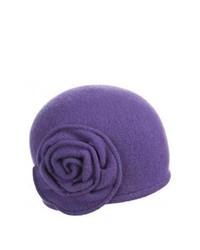 Violet Wool Hat