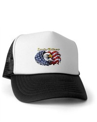 White and Black Baseball Cap