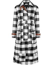 Altuzarra Agrippina Checked Wool Blend Coat