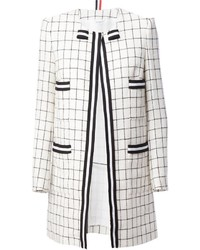 Thom Browne Checked Coat