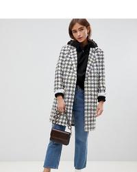 ASOS DESIGN Petite Slim Boucle Coat