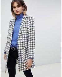 ASOS DESIGN Slim Boucle Coat