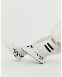 Vans Slip On Cap White Trainers