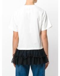 MM6 MAISON MARGIELA Tulle Hem T Shirt