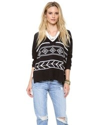 Intarsia sweater medium 8686