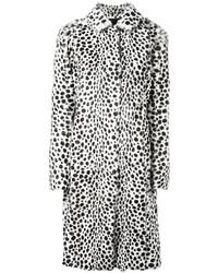 Givenchy Dalmation Print Coat